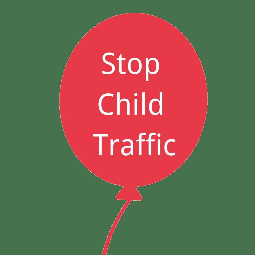logo stop child traffic